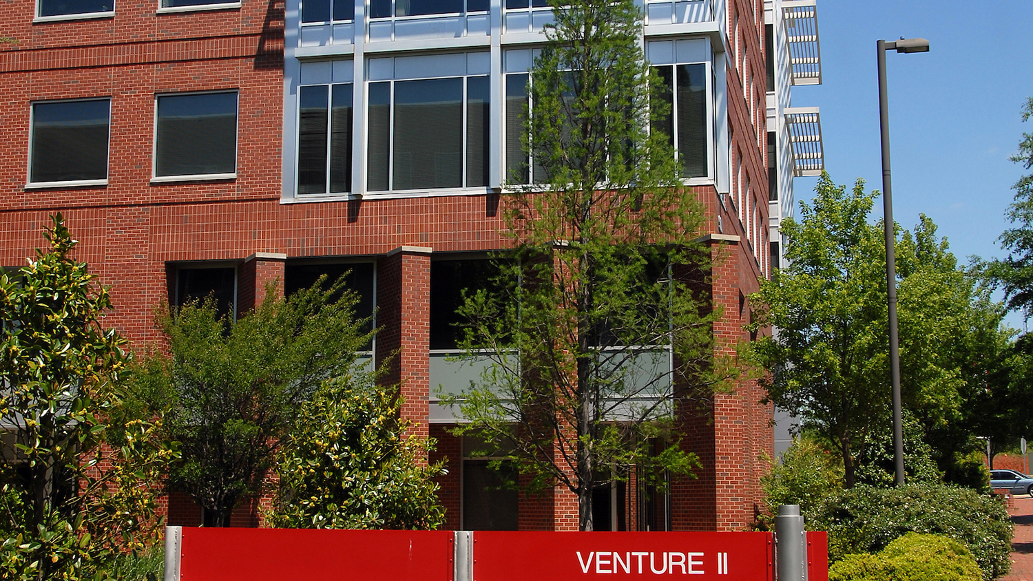 Exterior of the Venture Center on Centennial Campus.